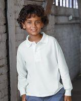 JERZEES SpotShield™ Youth Long Sleeve Sport Shirt 437YLR