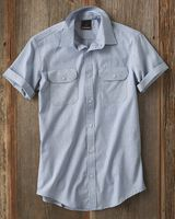 Burnside Dobby Stripe Short Sleeve Shirt 9265