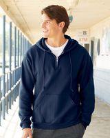 JERZEES NuBlend® Quarter-Zip Hooded Sweatshirt 994MR