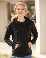 Independent Trading Co. Juniors' Heavenly Fleece Lightweight Hooded Sweatshirt SS650