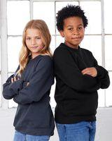 BELLA + CANVAS Youth Sponge Fleece Crewneck Sweatshirt 3901Y
