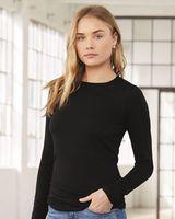BELLA + CANVAS Women's Jersey Long Sleeve Tee 6500