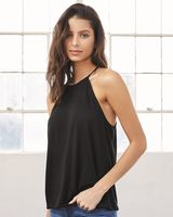 BELLA + CANVAS Women's Flowy High-Neck Tank 8809