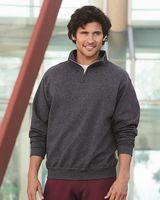 JERZEES Nublend® Cadet Collar Quarter-Zip Sweatshirt 995MR