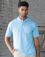 JERZEES SpotShield™ 50/50 Sport Shirt with Pocket 436MPR