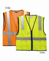 Kishigo Economy Mesh 6-Pocket Vest 1191-1192