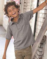 JERZEES Youth SpotShield™ 50/50 Sport Shirt 437YR