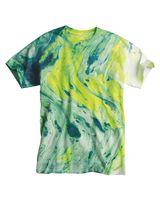 Dyenomite Marble Tie Dye T-Shirt 200MR