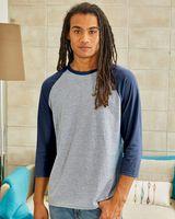 Hanes X-Temp® Three-Quarter Raglan Sleeve Baseball T-Shirt 42BA