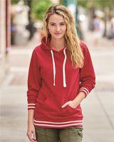 J. America Women's Relay Hooded Sweatshirt 8651