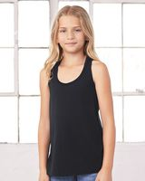 BELLA + CANVAS Youth Flowy Racerback Tank 8800Y