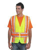 Bayside USA-Made ANSI Safety Mesh Vest 3787