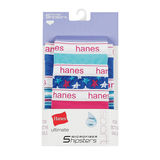 Hanes Ultimate® Girls' Sport Microfiber Hipsters 5-Pack GPSMH5