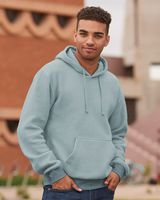 J. America Flip Side Fleece Hooded Pullover 8709