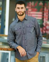 Burnside Chambray Long Sleeve Shirt 8255
