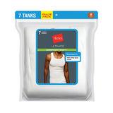 Hanes Classics Mens White A-Shirts P7 7990W7