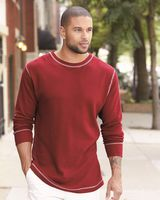 J. America Vintage Thermal Long Sleeve T-Shirt 8238