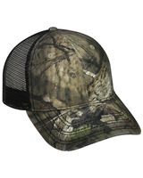 Outdoor Cap Oil-Stained Camo Mesh-Back Trucker Cap OSC100M