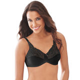 Lilyette® by Bali® Tailored Minimizer® Bra With Lace Trim 0428