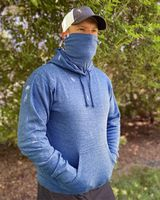 J. America Gaiter Fleece Hooded Sweatshirt 8879