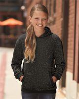 J. America Youth Glitter French Terry Hooded Sweatshirt 8606