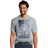 Hanes Men's Liberty Flag Graphic Tee GT49 Y06044