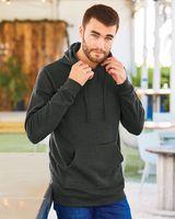 Burnside Injected Yarn Dyed Fleece Hooded Pullover Sweatshirt 8609