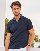 Tommy Hilfiger - Sanders Tipped Cotton Pique Sport Shirt - 13H2150