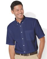 FeatherLite Short Sleeve Stain Resistant Oxford Shirt 0231