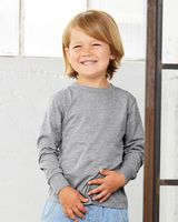 BELLA + CANVAS Toddler Jersey Long Sleeve Tee 3501T