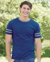 JERZEES Triblend Varsity Ringer T-Shirt 602MR