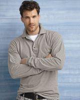 Gildan Ultra Cotton™ Long Sleeve Ringspun Pique Sport Shirt 3400