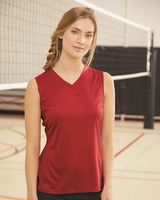 C2 Sport Women's Sleeveless V-Neck T-Shirt 5663