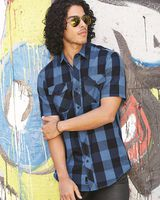 Burnside Buffalo Plaid Short Sleeve Shirt 9203