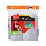Hanes Men's No-Show Socks 12-Pack 190V12