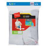 Hanes Men's Crew Socks, 12-Pack 184V12