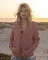 Independent Trading Co. Women's California Wave Wash Full-Zip Hooded Sweatshirt PRM2500Z