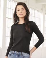 BELLA + CANVAS Women's Relaxed Jersey Long Sleeve Tee 6450