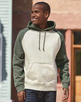 J. America Vintage Heather Hooded Sweatshirt 8885