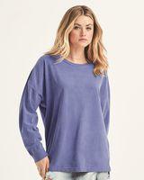 Comfort Colors Garment-Dyed Drop-Shoulder Long Sleeve T-Shirt 6054