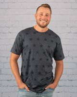 Code Five Star Print T-Shirt 3929