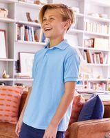 Hanes Youth Ecosmart® Jersey Sport Shirt 054Y