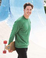 Independent Trading Co. Unisex Special Blend Raglan Sweatshirt PRM30SBC