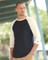 Champion Premium Fashion Raglan Three-Quarter Sleeve Baseball T-Shirt CP75