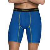 Hanes Men's Comfort Flex Fit® Breathable Mesh Long Leg Boxer Briefs 3-Pack CFFLP3