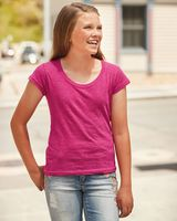 J. America Youth Glitter Short Sleeve T-Shirt 8129