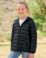 Weatherproof Youth 32 Degrees Packable Hooded Down Jacket 15600Y