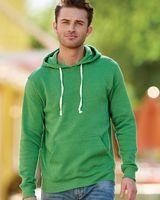 J. America Triblend Hooded Sweatshirt 8871