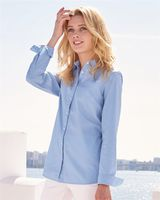 Tommy Hilfiger Women's Capote End-on-End Chambray Shirt 13H4377