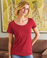 Hanes Women's Modal Triblend Short Sleeve T-Shirt MO150